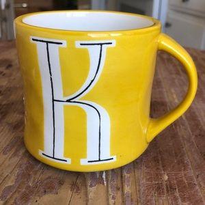 Anthropologie K Mug